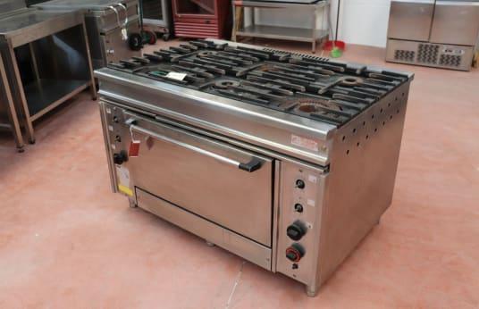 SALA C 600 6-Flammen-Industrieherd