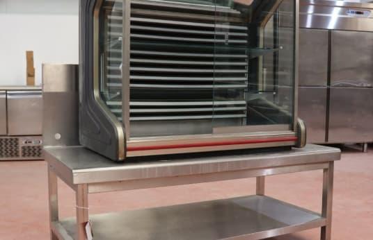 COMERSA DIANA S 1000 Kühlvitrine + Arbeitstisch