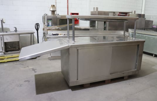 EL CORTE INGLES Refrigerated Work Table