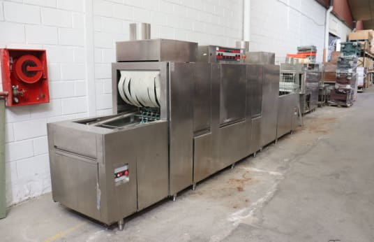 ANGELO PO N354 + TA12N + CVN + DRN Conveyor Dishwasher