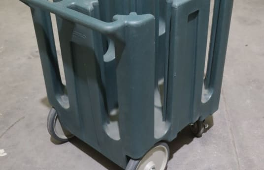 CAMBRO DC 825 Lot of 6 Trolleys for Plate Transport