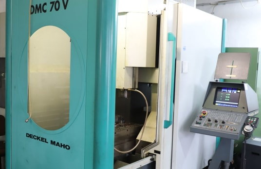 DMG DMC 70 V Vertikal-Bearbeitungszentrum