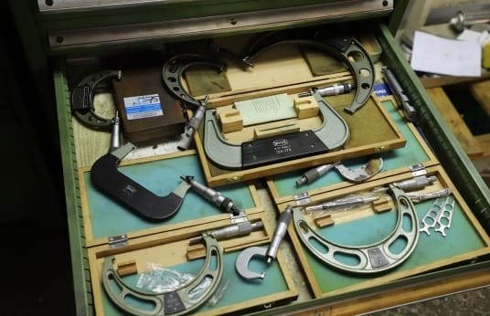 MAUSER Lot of Outside Micrometers