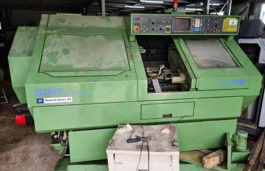 STAR KNC-25 CNC automatic lathe