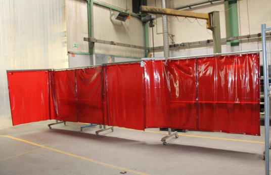 TRANS TAC ARC WELLING 2 Welding Curtains