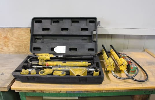 RODCRAFT HRS 10 Hydraulic Straightening Set