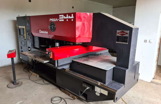 AMADA PEGA 204040 CNC Turret Punch Press