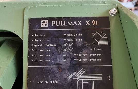 PULLMAX XC 91 CHAMFERING MACHINE