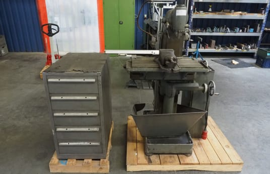 Fraiseuse universelle DECKEL FP1 with Tool Cabinet