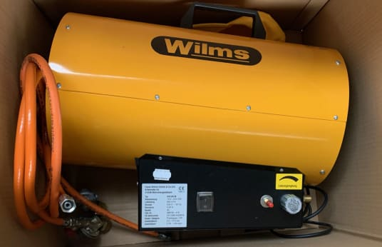 WILMS GH-25 M Gas Heater / Liquid Gas Hot Air Blower