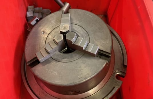 RÖHM 200 mm Three-Jaw Lathe Chuck