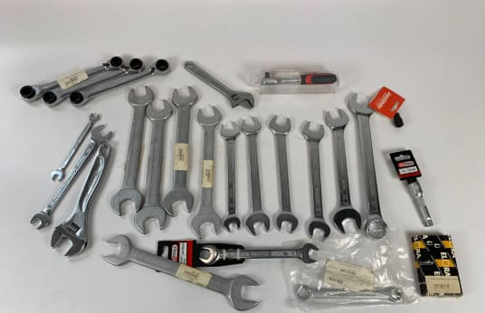 KS TOOLS Lot Open-End Wrenches