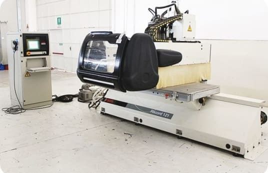 Rebajadora SCM RECORD 121 CNC with NESTING Table