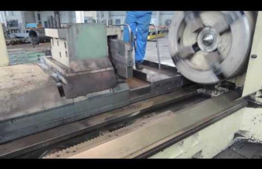 Schehr Meuselwitz DXWK 1000/3 CNC Roll Lathe