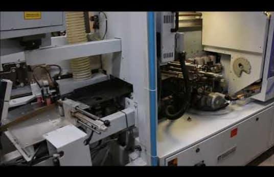 Chapadora de cantos con correa de presión superior BRANDT - LIGMATECH KDF 880 Profi - ZHR 01