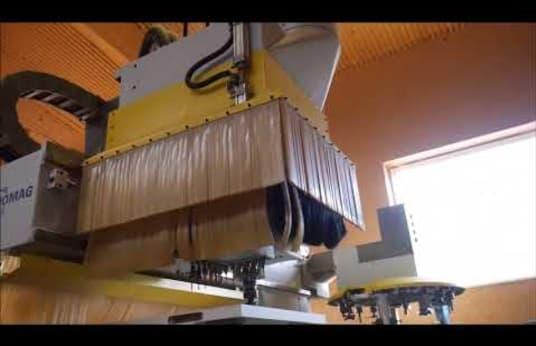 HOMAG GENIUS BOF 411/45/PM CNC Machining Center