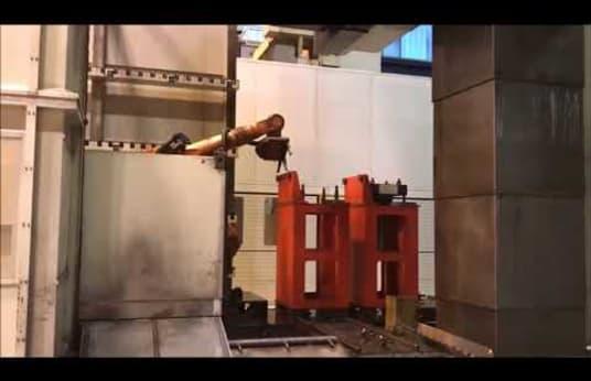 2 x INNSE BERARDI Atlas 3 RMI Portal Milling Machines with 5-fold pallet station