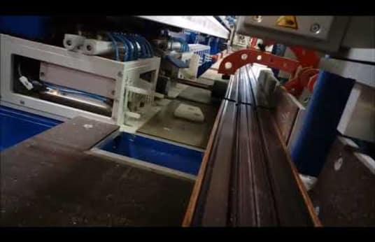 K.SCHULTEN RKS 350 Zuschnittzentrum für Aluminium- und Kunststoffprofile (Fenster- & Rollladenbau)