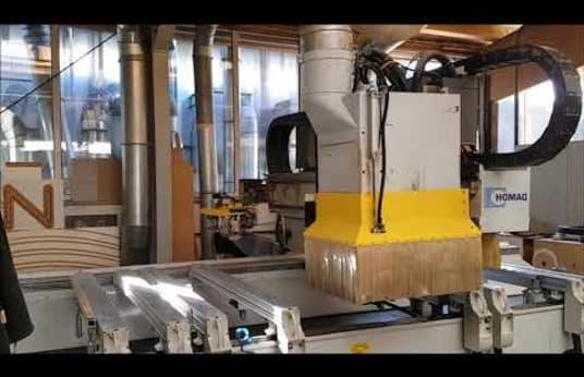 Centro de mecanizado CNC HOMAG GENIUS BAZ 20/30/18/V/K