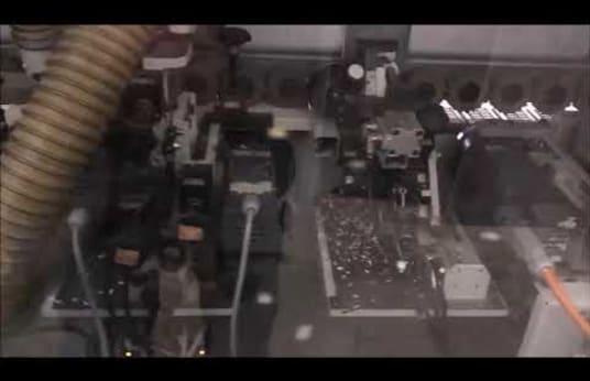 BRANDT OPTIMAT KDF 530 C ( HOT-AIR) Kantenanleimmaschine mit Schugoma HOT-AIR-SYSTEM KANTENKING