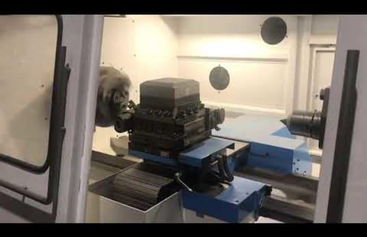 CNC fréza GEMINIS CNC5 650 x 2000