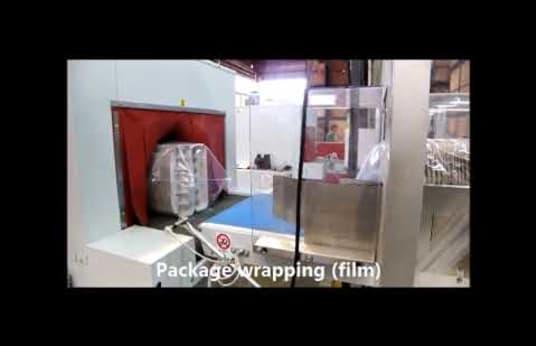 Macchina per imballaggio IFP HSI 60 3/N & TS 70/40