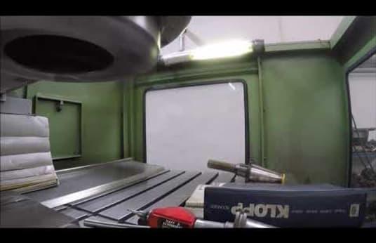 KLOPP UW 5 S CNC Werkzeugfräsmaschine