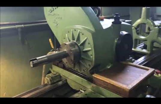 HEIDENREICH & HARBECK HANSEAT 480 Leit- und Zugspindeldrehmaschine/ Innengewinde-Wirbelmaschine