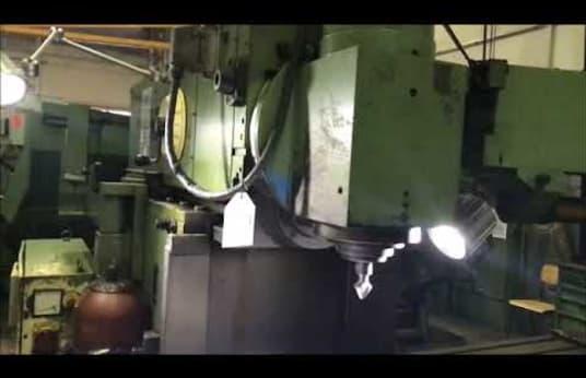 WMW HECKERT FQW 400 T NC CNC Universal Milling Machine