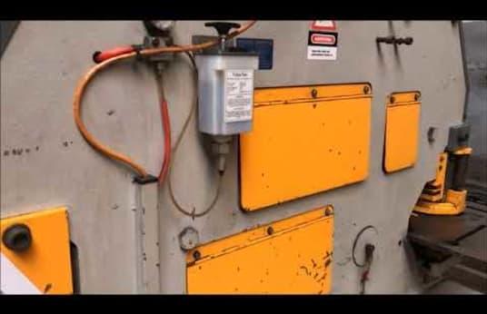 KNUTH 600 Hydraulical Profile Steel Shear