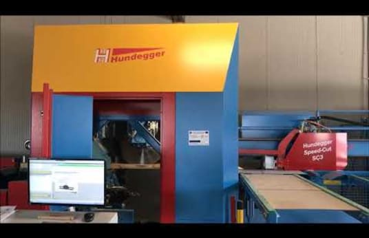 HUNDEGGER Speed-Cut SC-3-200 Joinery Machine