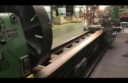 WEIPERT W 800 E Leit- und Zugspindeldrehmaschine