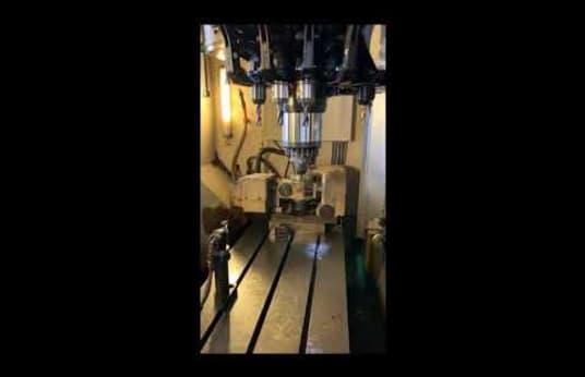 CHIRON DZ 18 S High Speed CNC Megmunkáló központ