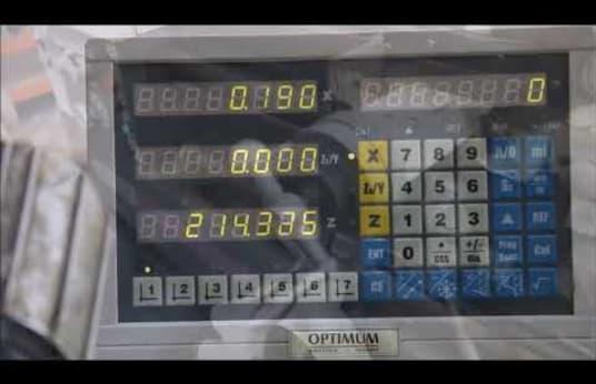 Токарный станок OPTIMUM D560x1500DPA