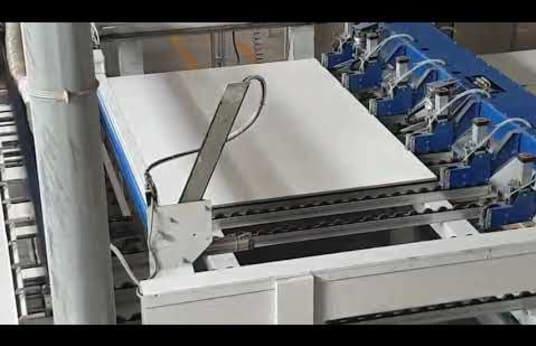 GIBEN SIGMATIC 105 Plattensäge/ Winkelanlage