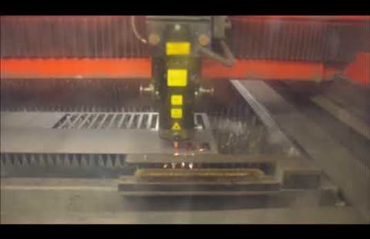 Машина за лазерно рязане BYSTRONIC BYSPRINT 3015