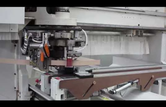 Centro de mecanizado para fresar/taladrar/encolar cantos MORBIDELLI UNIVERSAL HPE