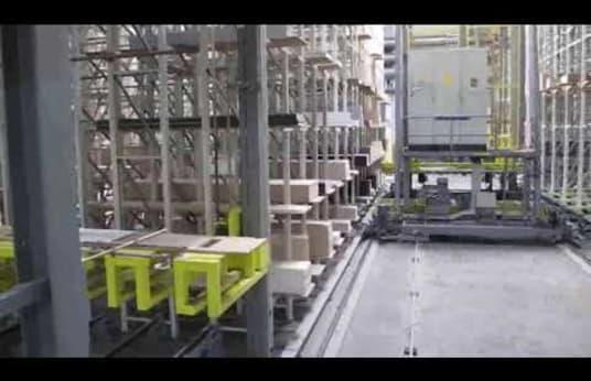SYSTRAPLAN GEMAC Vertical Storage