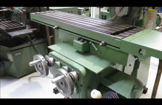 RECKERMANN Kombi 1000 Tool Milling Machine