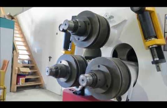 Profil Bükme Makinesi OSTAS OPK 85