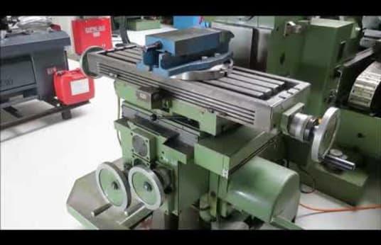 KUNZMANN UF 6 / 2Q Tool Milling Machine - Universal