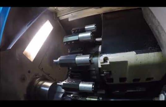 Torno CNC NAKAMURA-TOME SC-300