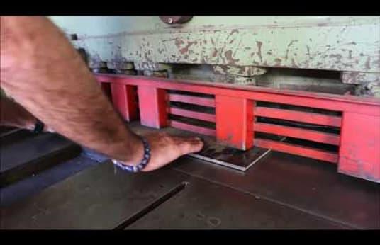 VEB SCTP 6,3 X 3150 Plate Shear