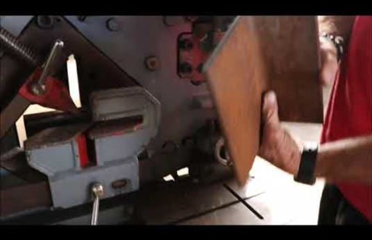 Cizalla para perfiles de hierro y punzonadora combinada MUHR UND BENDER KBL 16 OPTIMA