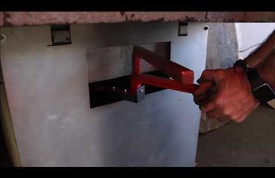 APOLLO TV 256/S stroj za zarezivanje