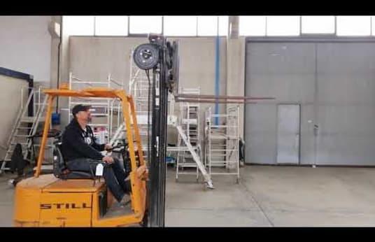 Wózek widłowy STILL EFG 1.2/5300 Triplex