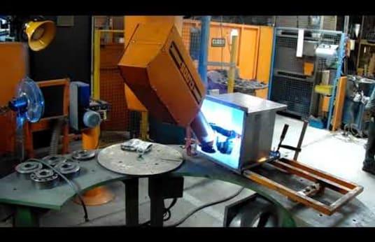 Robot de soldadura CLOOS Romat 76 SW