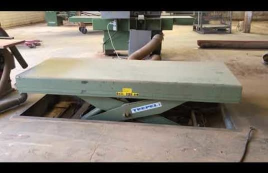 TREPEL Hydraulic Lift Table