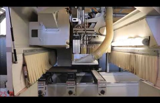 HOLZ-HER 7225K PRO-MASTER 5XL CNC Machining Centre with 5-Axis Spindle