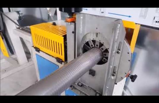 SWAH VS1-K Machine for the production of stainless steel chimney-liners
